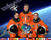 International Space Station Expedition 4 Official Crew Photograph